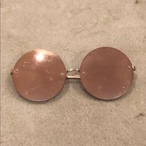 Big circle sunglasses